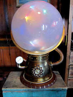 Orion Sphere, Will Rockwell's Steampunk Lumia Box/Lamp