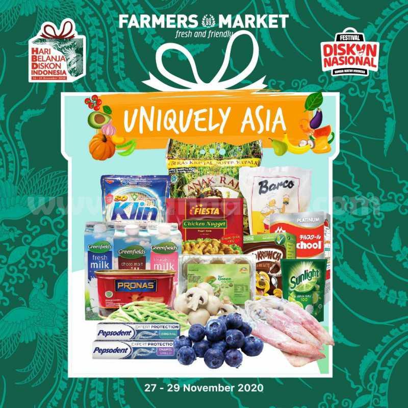 Katalog Promo Farmers Market Weekend 27 - 29 November 2020
