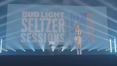 #WCW In Case Ya Missed It: Saweetie Unleashing Hits 'My Type,' & 'Tap In,' At 'Bud Light Seltzer Sessions New Years Eve 2021'