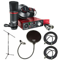 Focusrite Scarlett Solo Studio (2nd Gen) USB Audio Interface & Recording Bundle