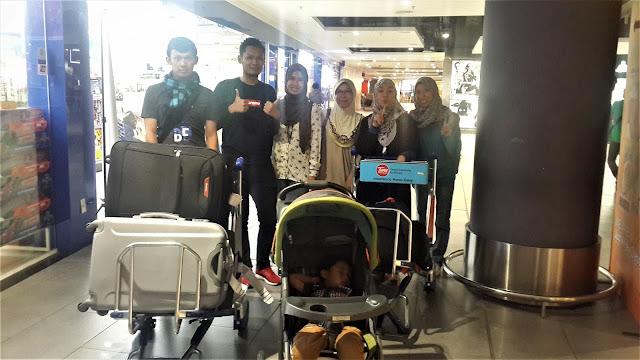 Jemput Godikz Siblings Balik Dari South Korea di KLIA2