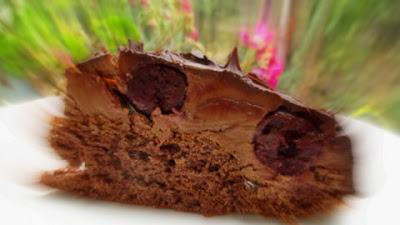 Lúdláb torta  szelet