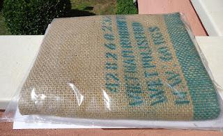 Saco de café usados comprado en internet