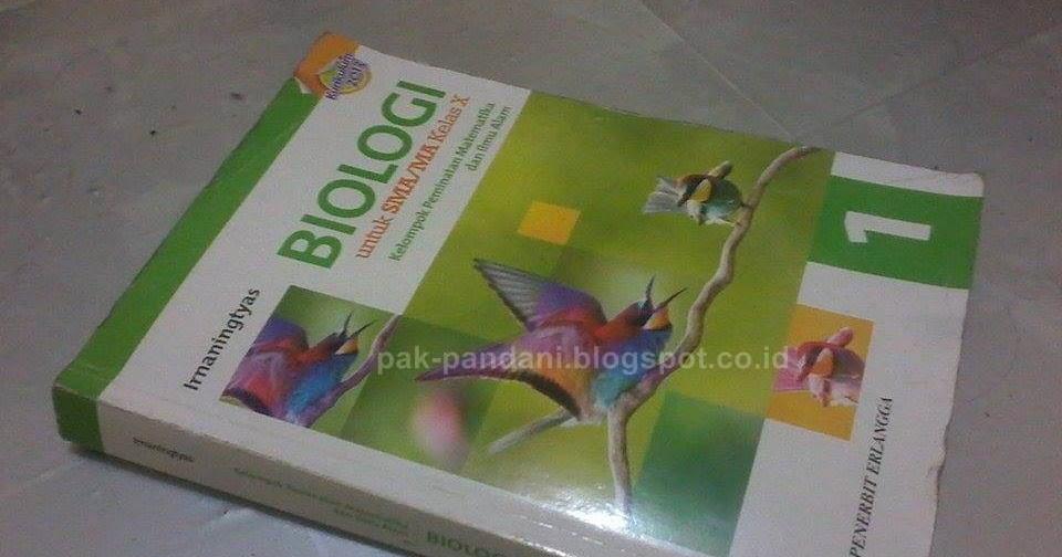Pembahasan Soal Soal Buku Biologi Erlangga K 13 Untuk Sma Ma Kelas X Blog Pak Pandani