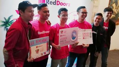 Para pemenang tenaga kerja impian Reddoorz