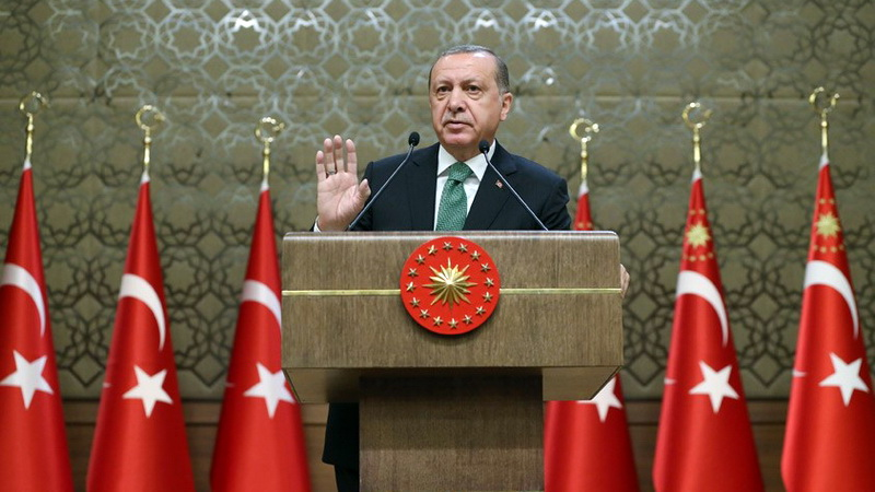 Πολεμικές κραυγές Ερντογάν: Δεν θα επιτρέψουμε ποτέ δημιουργία κουρδικού κράτους στη Συρία