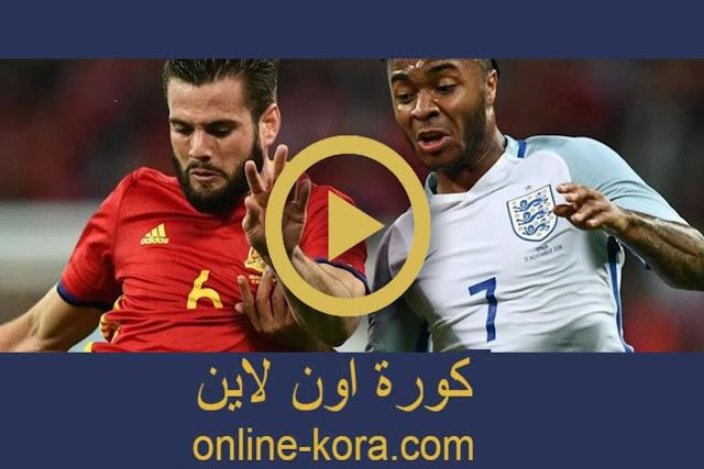 مشاهدة مباراة كرواتيا واسبانيا بث مباشر