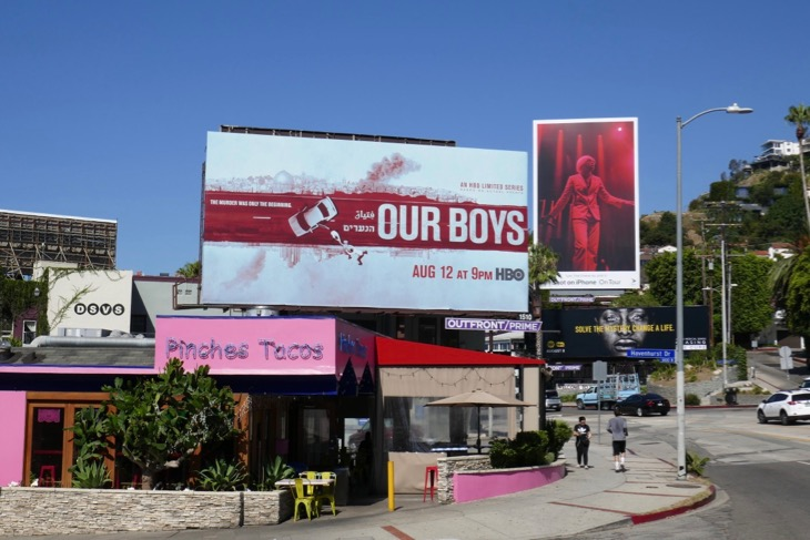 Our Boys HBO series billboard