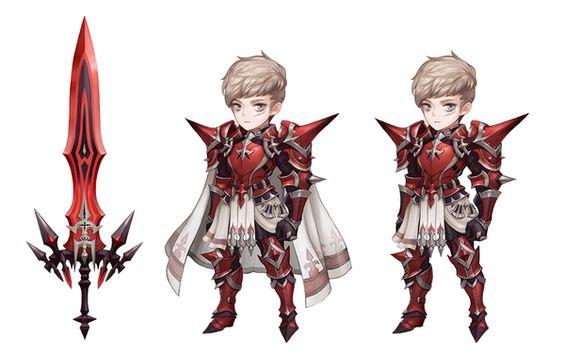 character design gallery  knights lin karma espada kris ace jave  lubu anorend