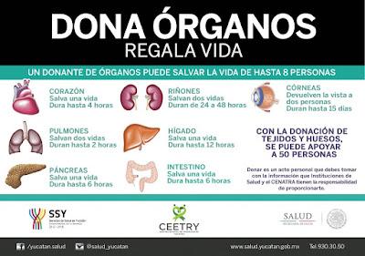 Donación legal de órganos