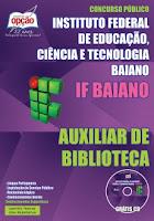 Apostila Instituto Federal Baiano - Auxiliar de Biblioteca - IFBaiano edital 2015