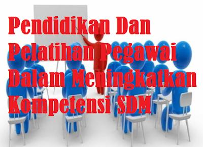 Pendidikan Dan Pelatihan Pegawai Dalam Meningkatkan Kompetensi SDM