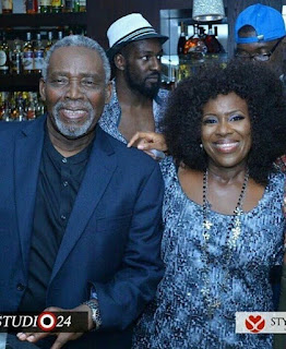Joke Silva Celebrates Her Husband Olu Jacobs On His 75th Birthday