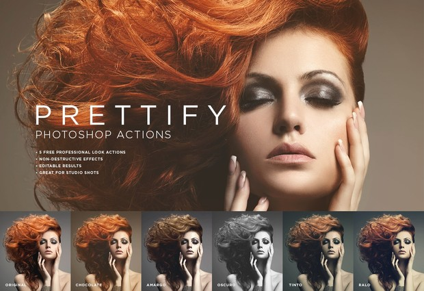 Free Prettify Photoshop Actions, Photoshop Actions