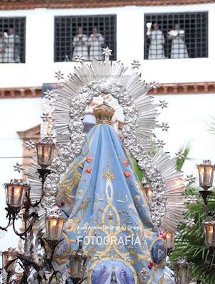 Virgen de la Cabeza monjas trinitarias