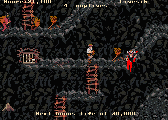 Indiana Jones and the Temple of Doom Videojuego Arcade