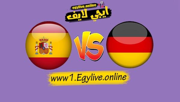 نتيجة مباراة ألمانيا واسبانيا بتاريخ 03-09-2020 دوري الأمم الأوروبية