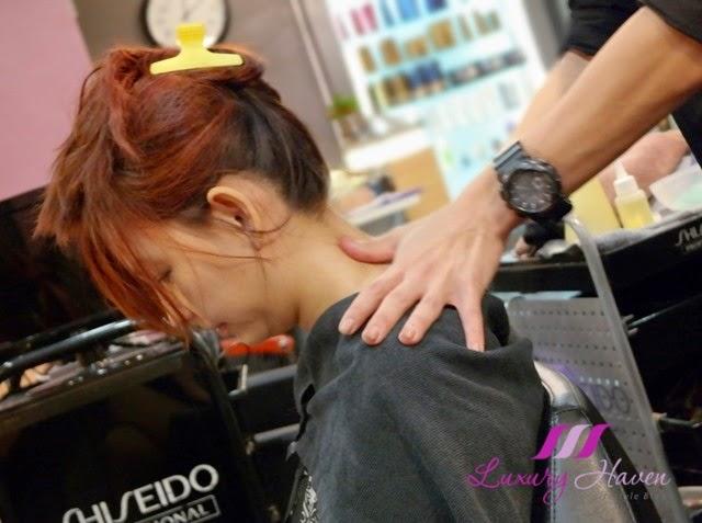 jass hair design scalp treatment massage