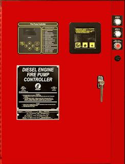Diesel Engine Firetrol Fire Pump Controller