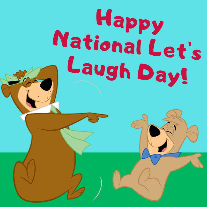 National Let's Laugh Day Wishes