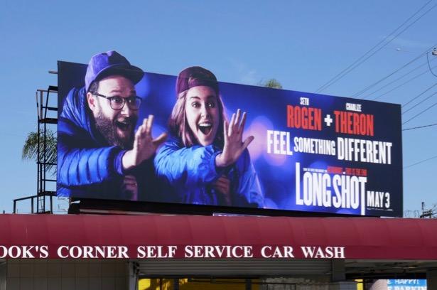 Long Shot movie billboard