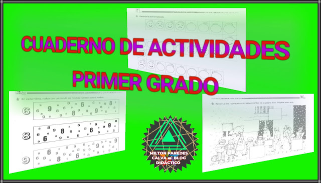CUADERNO DE ACTIVIDADES-PRIMER GRADO