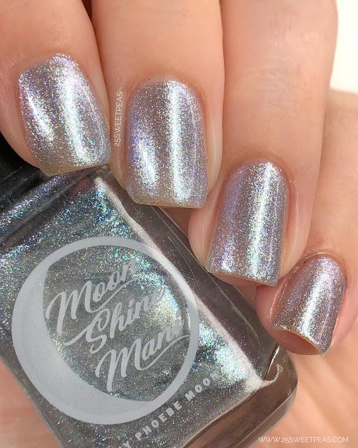 Moon Shine Mani Pedal to the Metal, Commander! 25 Sweetpeas