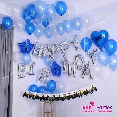 Set bóng trang trí sinh nhật dành cho người yêu SNNY02