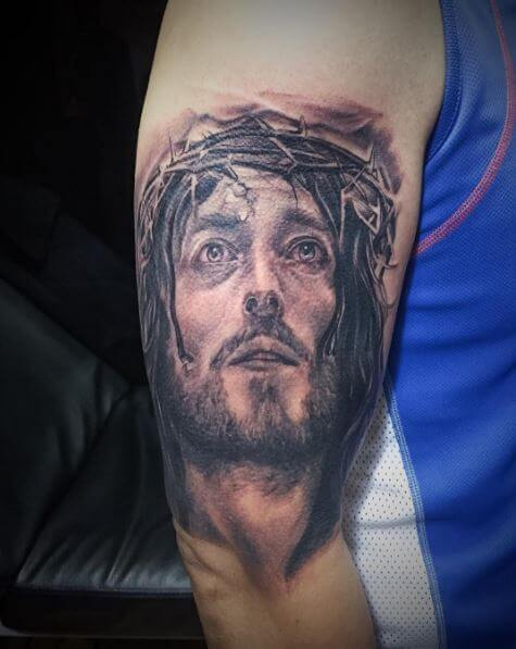 50+ Best Jesus Tattoos Designs & Ideas (2019) | Tattoo Ideas