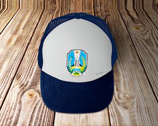 desain topi lambang logo provinsi jawa timur - kanalmu
