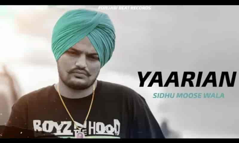 Yaarian Song Images Sidhu Moosewala
