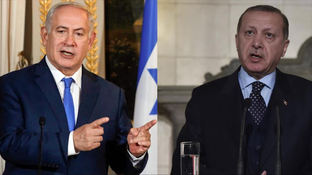 Se intensifica la guerra retórica entre Netanyahu y Erdogan