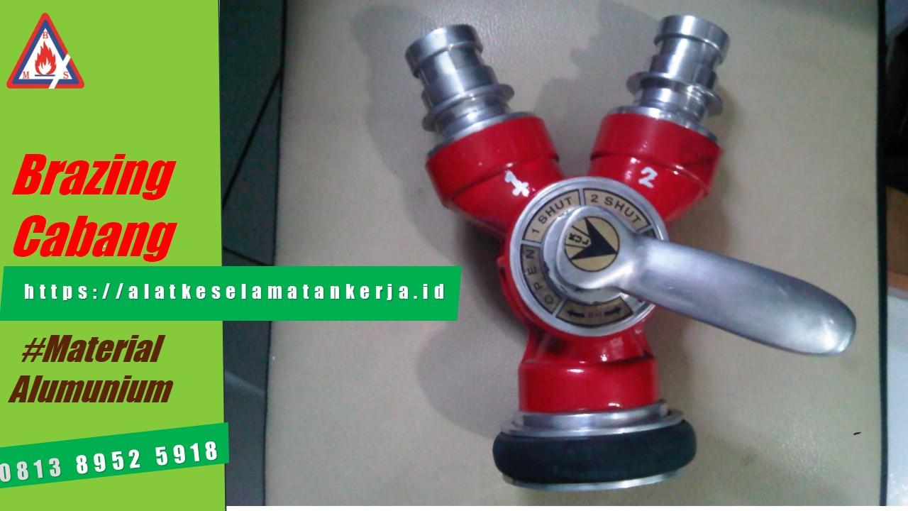 perlengkapan hydrant, brazing cabang, y-connection hydrant, brazing 2 cabang, komponen hydrant, peralatan hydrant, hydrant equipment, accecories hydrant, alat pemadam kebakaran, perangkat pemadam