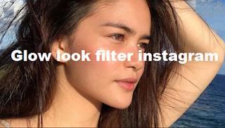 Glow look filter instagram, How to Get Instagram Gold Glow Look Filter