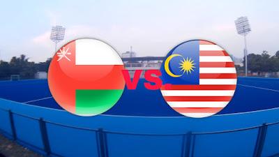 Live Streaming Malaysia vs Oman Hoki Sukan Asia 28.8.2018