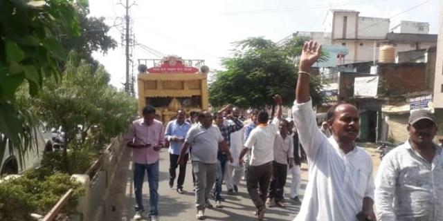भाजपा ने राम रथयात्रा रुकवाई, राम का रथ थाने में जब्त करा दिया: कांग्रेस | MP NEWS