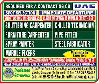 Spot Selection for Contracting Company