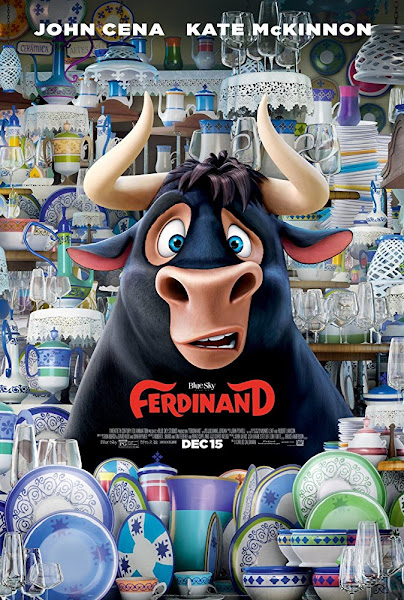 Poster of Ferdinand (2017) Dual Audio [Hindi-DD5.1] 1080p BluRay ESubs Download