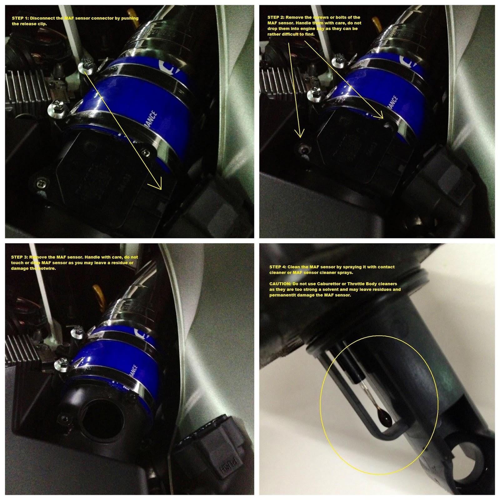 TarmacTyrants: MAF Sensor Cleaning