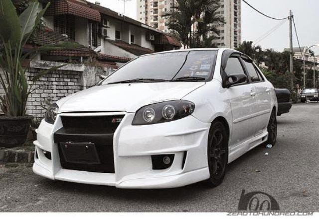 Modifikasi Toyota Vios Body Kit