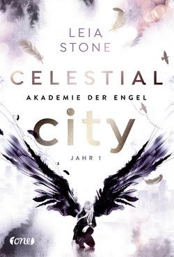 Bücherblog. Rezension. Buchcover. Celestial City - Akademie der Engel (Band 1) von Leia Stone. Fantasy. Jugendbuch. one