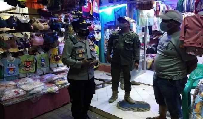 Gelar Operasi PPKM Darurat, Polsek Cisoka bersama 3 Pilar, Berikan Somasi Teguran Ke Pemilik Usaha dan Warga