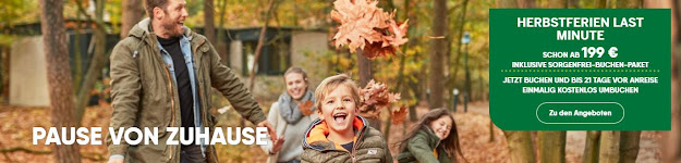 Center Parcs Herbstferien