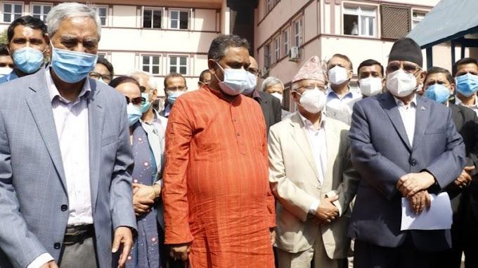 नेपाल राजनीति: विपक्षी दलले देश 'गम्भीर सङ्कटमा धकेलिएको' भन्दै दिए यस्ता कारण