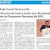 David Pereira de Castro eleito para vice-Presidente da Mesa do Congresso Nacional!