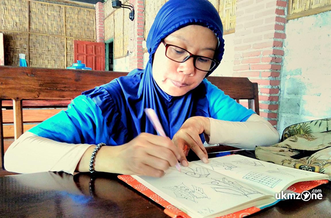 Sekar Ikanandanti H Pemilik Sekar Makirtya Gallery Dari Yogyakarta | UKM Zone