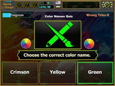 Color Names Quiz