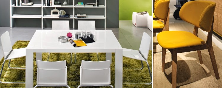 Dining Tables & Chairs by Calligaris - Simplysofas.in