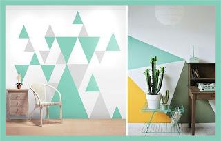paredes pintadas trinagulos
