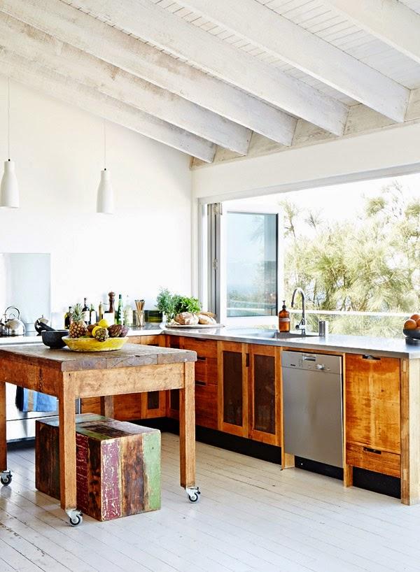 10 cocinas con vistas al jard n guia de jardin - Fp de cocina ...